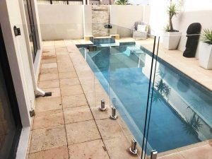 Frameless glass pool fencing Perth