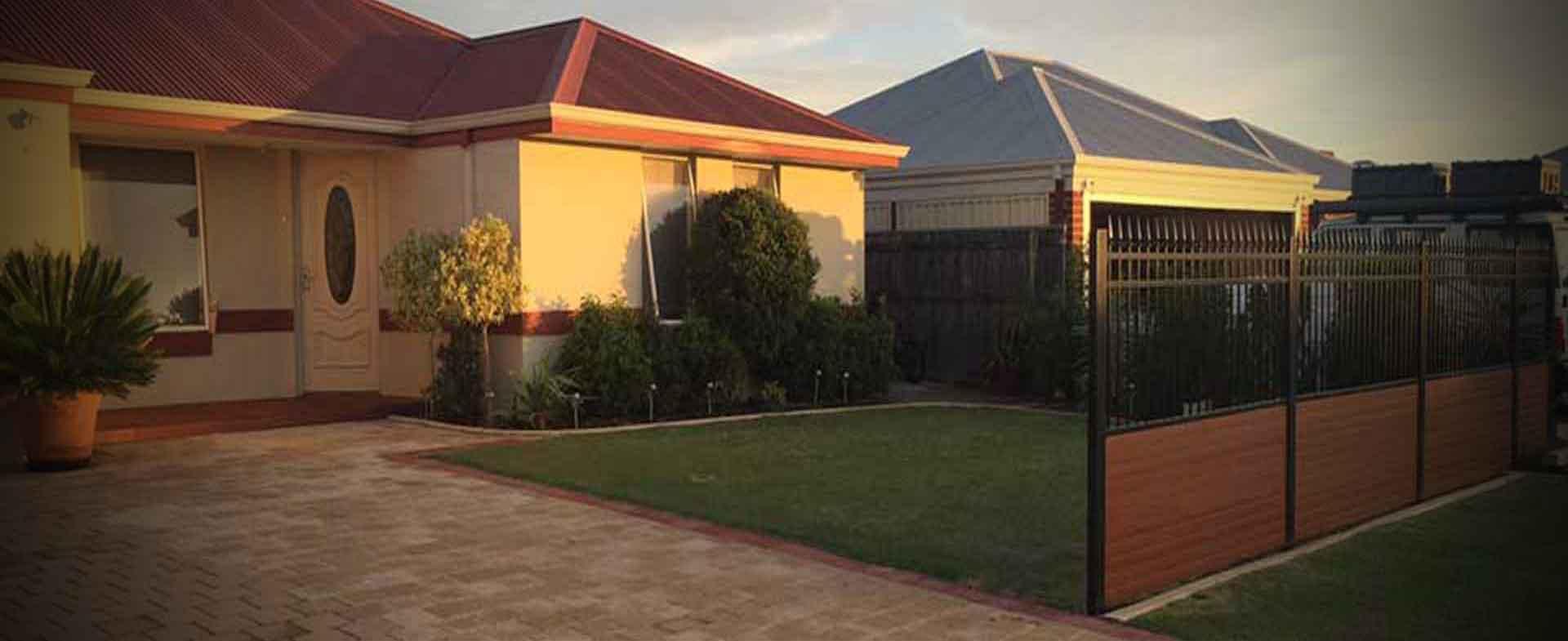 Slats Fencing Perth