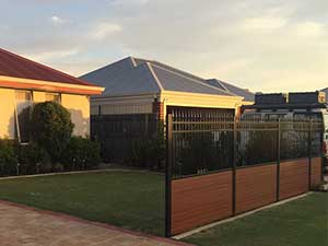 Aluminum-Slat-and-Louvre-Fencing Perth