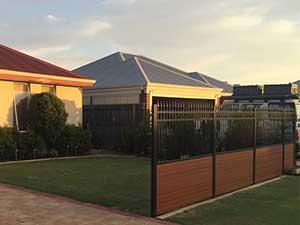 Aluminum-Slat-and-Louvre-Fencing Perth